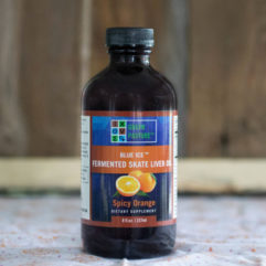 Blue Ice – Fermented Skate Liver Oil – Spicy Orange – 8 oz