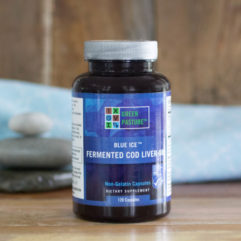 Blue Ice – Fermented Cod Liver Oil – Capsules – 120 Caps