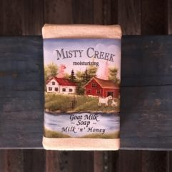 Goat Milk Soap – Milk 'n' Honey – 3 oz Bar