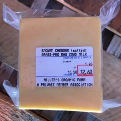 Smoked Cheddar – Salted – per lb