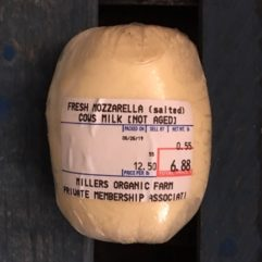 Fresh Mozzarella – Salted – per lb