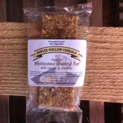 Granola – Bars w/Raisins – per Bar