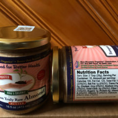 Almond Butter – European – Truly Raw, Sprouted, Organic