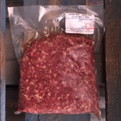 Ground Beef – 2 lb Fam Pak at $6.00/lb