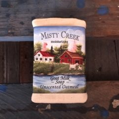 Goat Milk Soap – unscented Oatmeal – 3 oz Bar