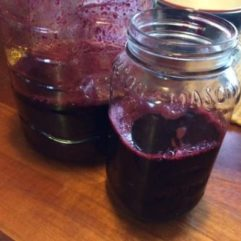 Black Raspberry Juice – PINT