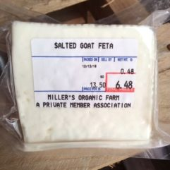 Goat Feta Cheese – 1/2 lb
