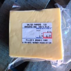 Farmer's Cheese – Salted – 5-6 lb Block