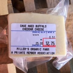Cave Aged A2/A2 Buffalo Cheese – 1/2 lb