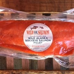 Whole Salmon Fillet – small – frozen – per lb