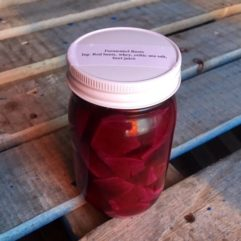 On Sale – Fermented Beets – PINT