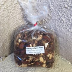 Honey & Spice Nuts –  12 oz Bag